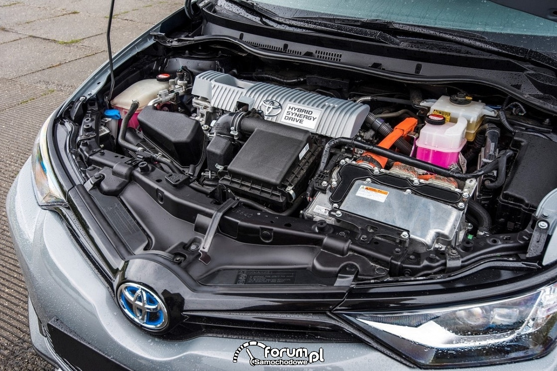 Toyota Auris, Hybrid Synergy Drive, silnik
