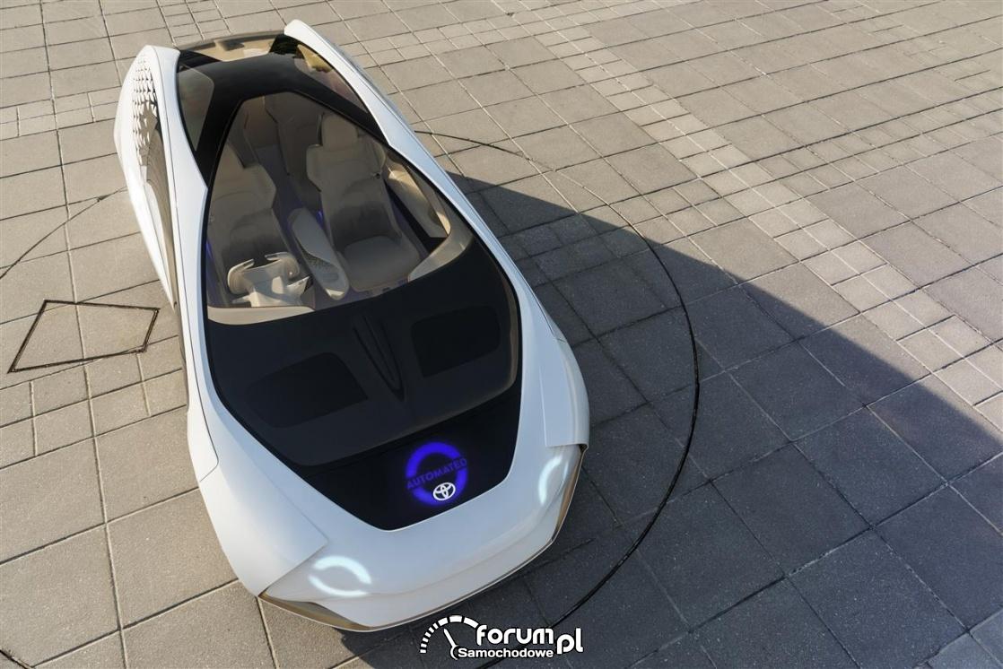 Toyota Concept-i, widok z góry