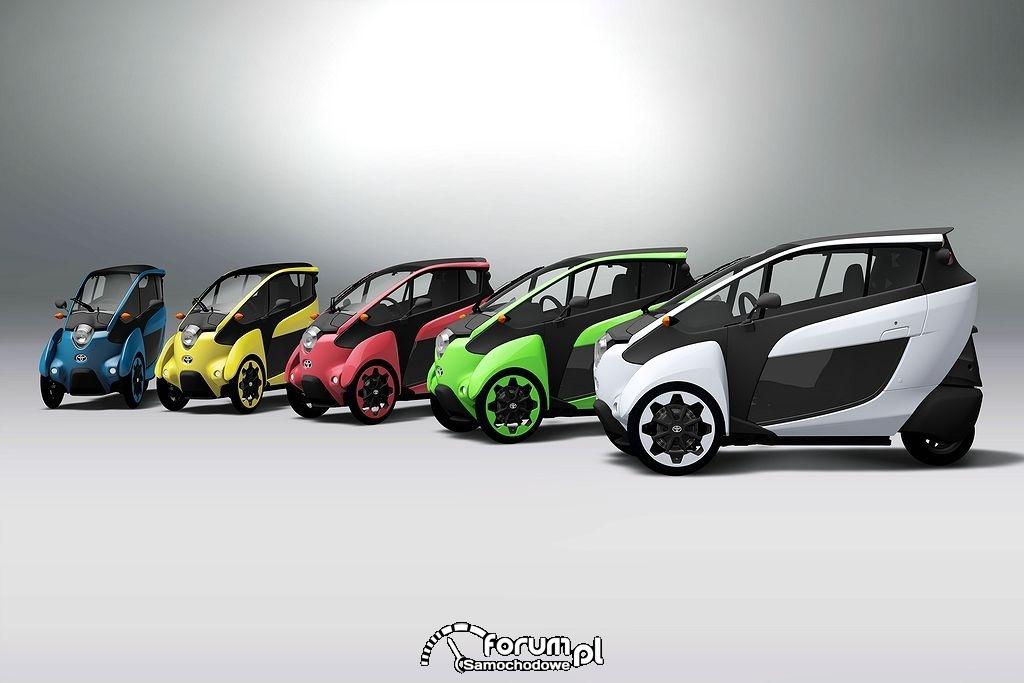 Toyota i-Road, dostępne kolory
