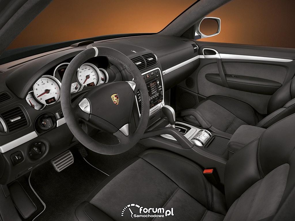 Porsche Cayenne S Transsyberia, wnętrze