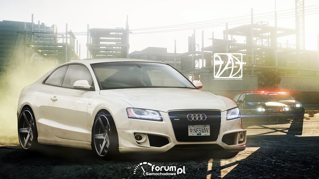 "Audi A5 ""Wanted"""