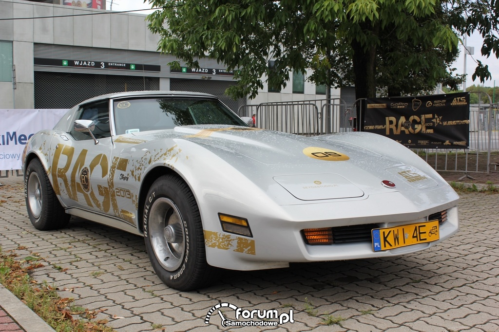 Chevrolet Corvette Stingray C3, przód