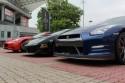 Ferrari, Lambo i Nissan GTR