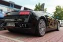 Lamborghini Gallardo, tył