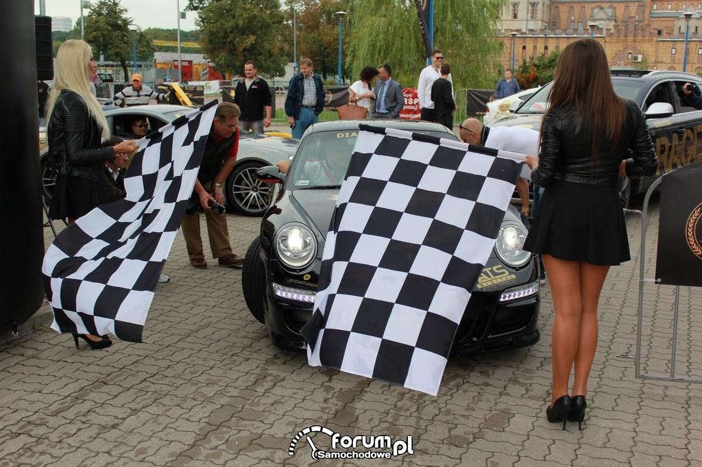 Porsche GT3 - start