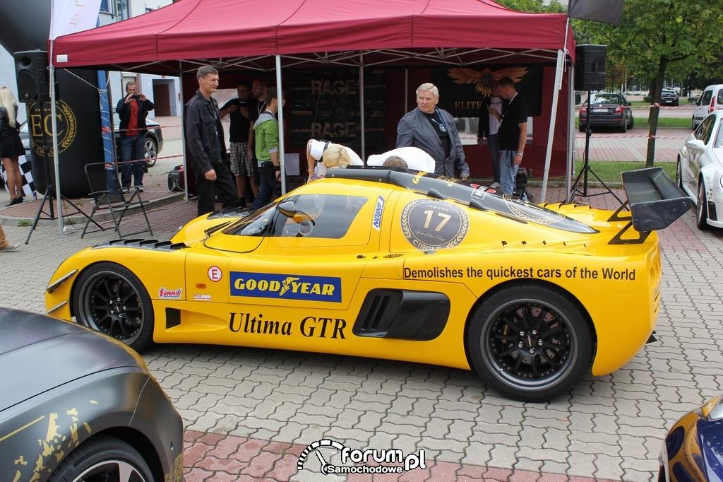 Ultima GTR, bok
