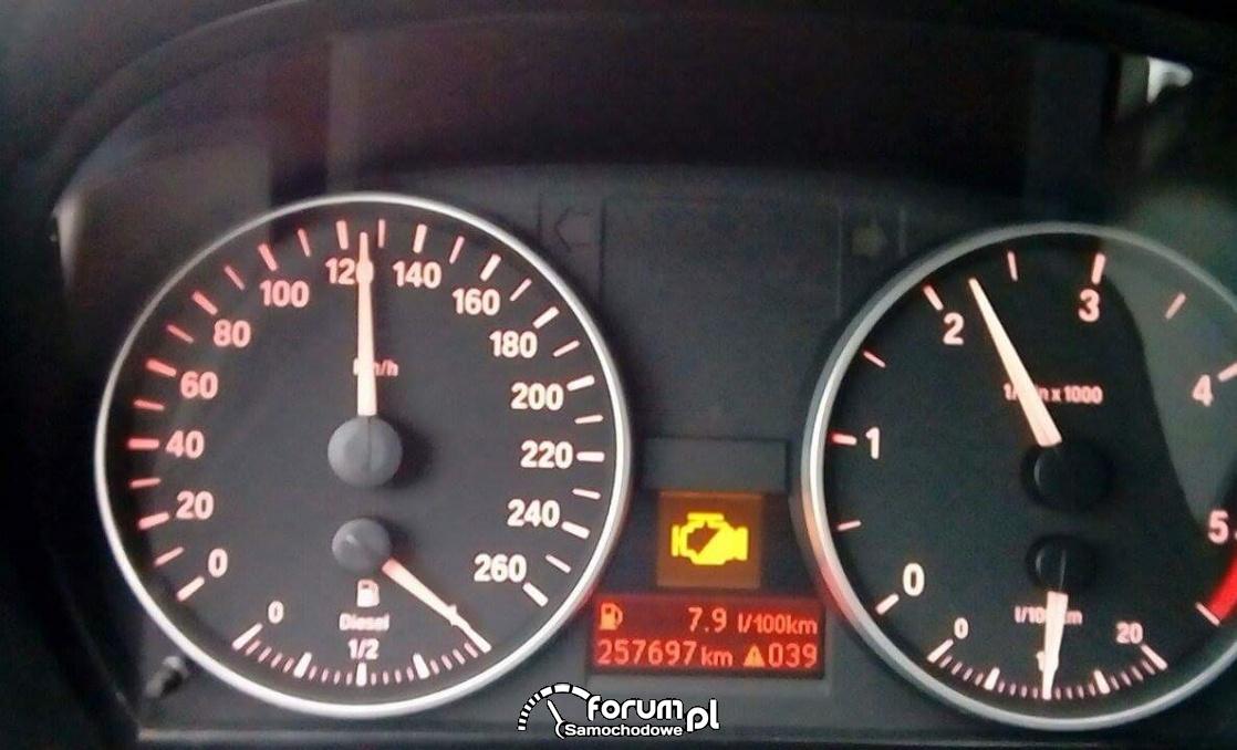 Kontrolki Bmw E90 Opis