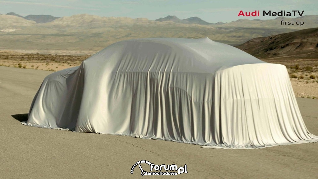 Audi Media TV - przedpremierowy pokaz nowego Audi