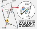 Janki - mapka, zamknięta mszczonowska