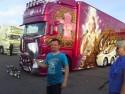 Juha Ristimaa i jego ciężarówka Madonna