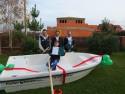 Łódka wiosłowa Fishermaster 375, 13-letni Krystian