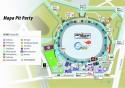 Mapa Pit Party - Top Gear Live, Stadion Narodowy w Warszawie