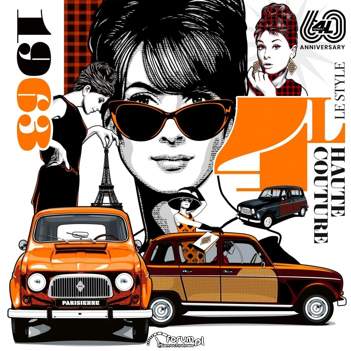 Renault 4 świętuje 60-lecie