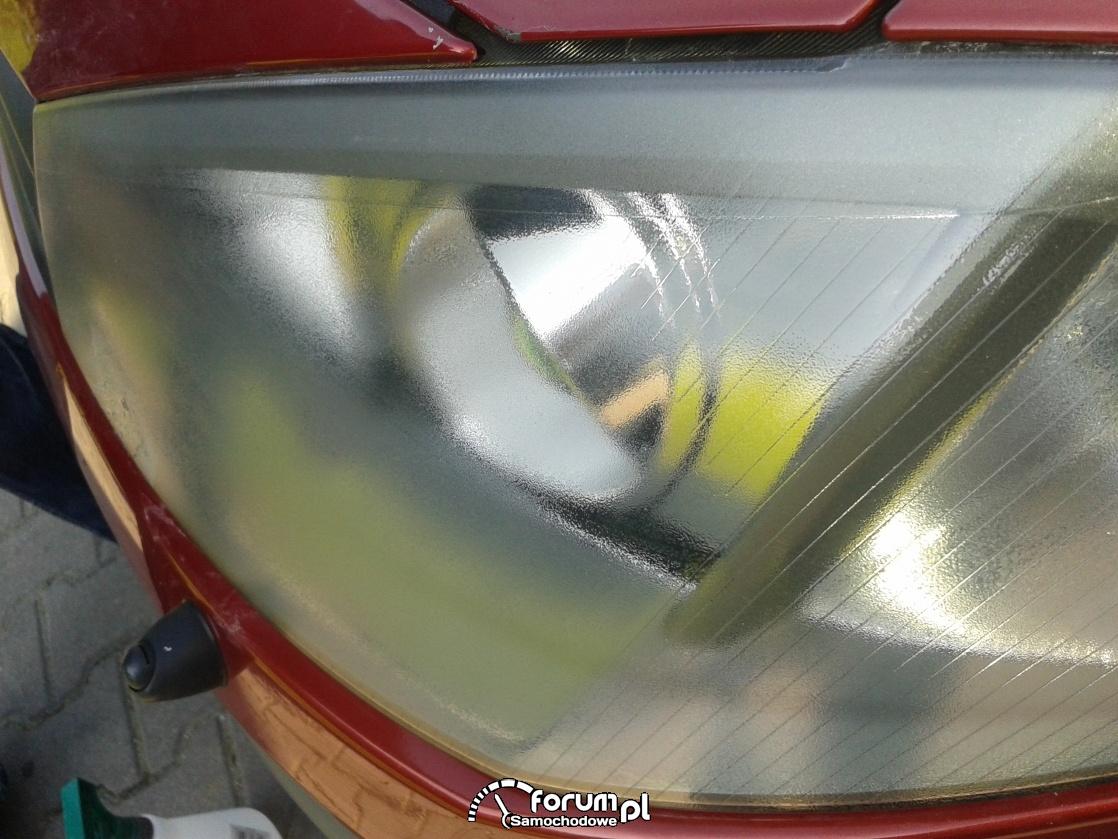 """Reflektory-Renault Megane II Kombi-""""skórka pomarańczy ?"""