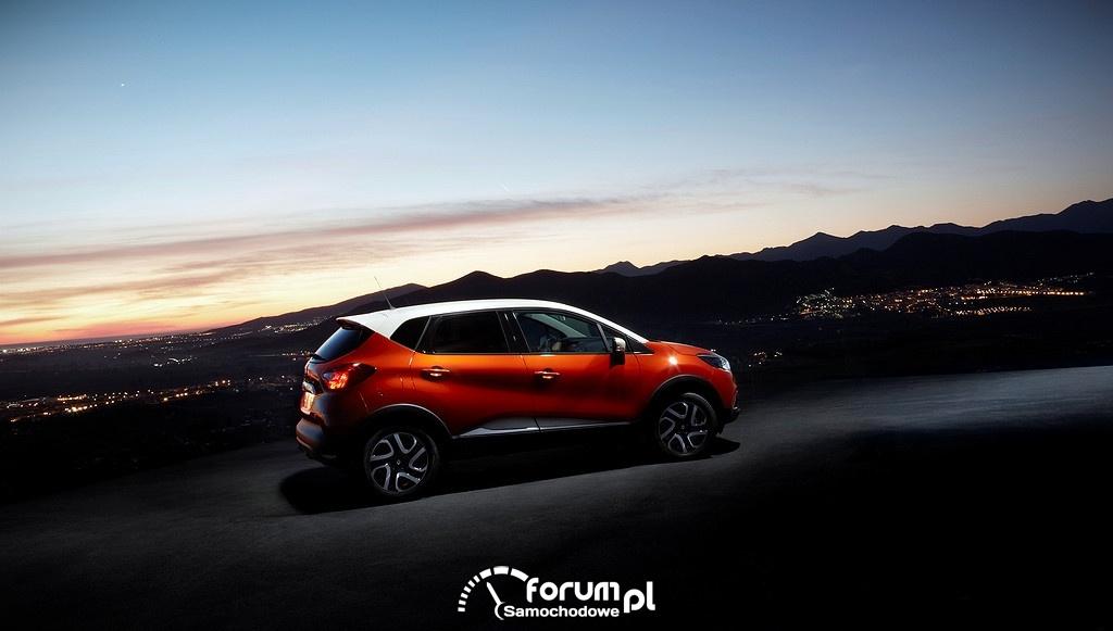 Jazda w nocy, Renault Captur