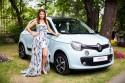 Katarzyna Glinka, ambasadorka marki renault, Renault Twingo Bizuu