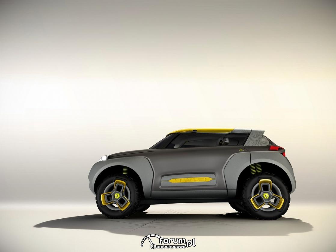 KWID CONCEPT, Renault, bok