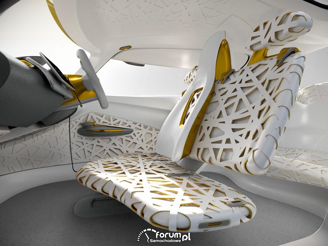 KWID CONCEPT, Renault, designerskie fotele