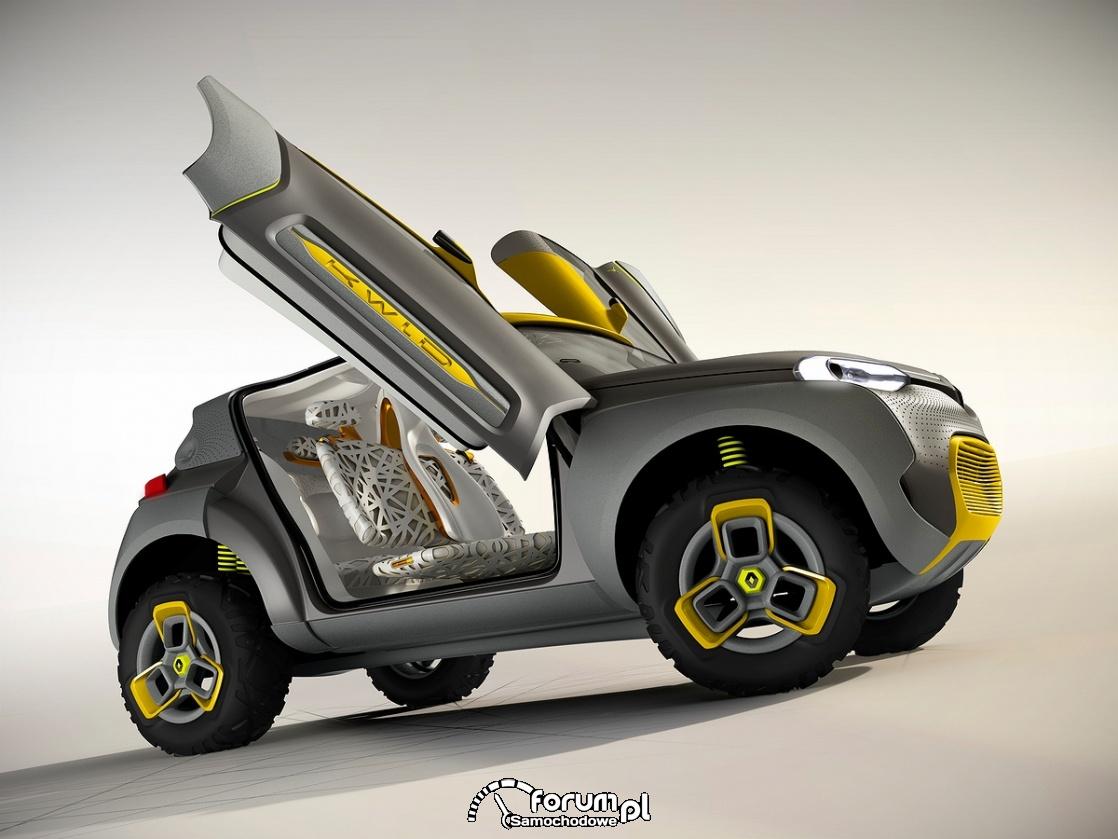 KWID CONCEPT, Renault, lambo doors