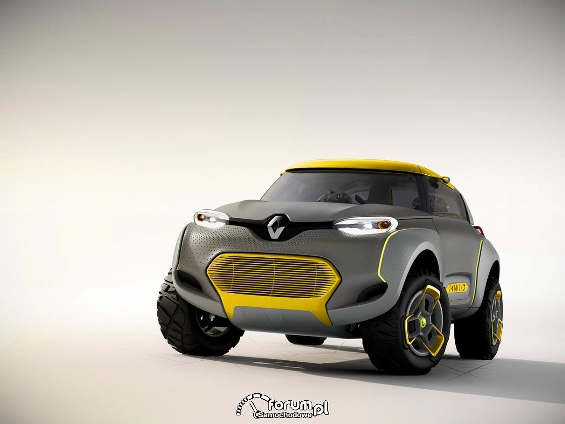 KWID CONCEPT, Renault, przód