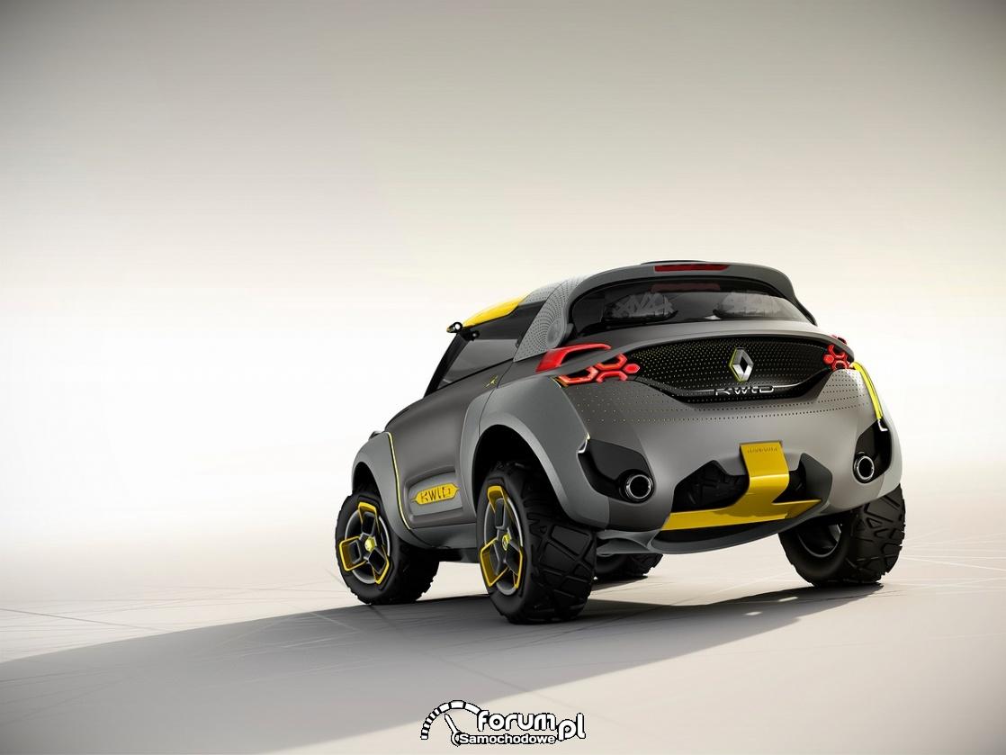 KWID CONCEPT, Renault, tył