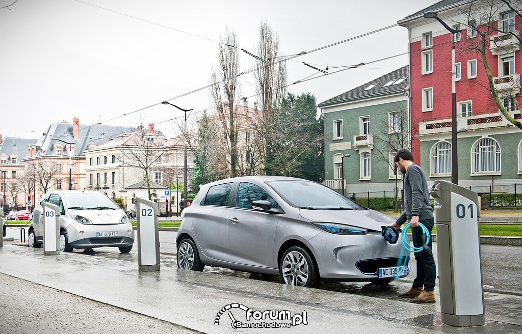 Ładowarki samochodów elektrycznych we Francji, Renault ZOE