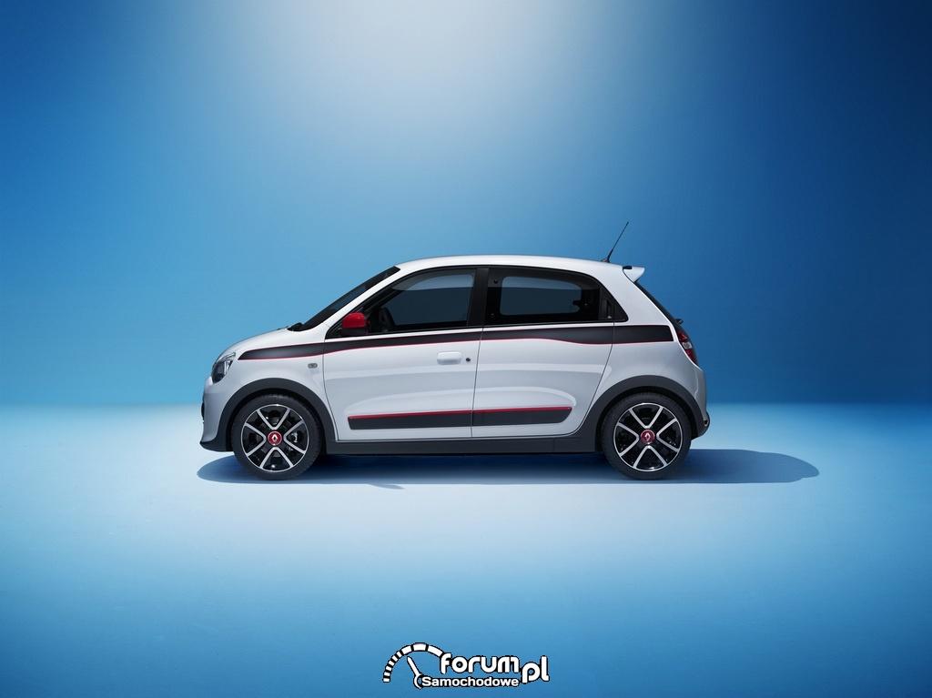 Nowe Renault Twingo, bok