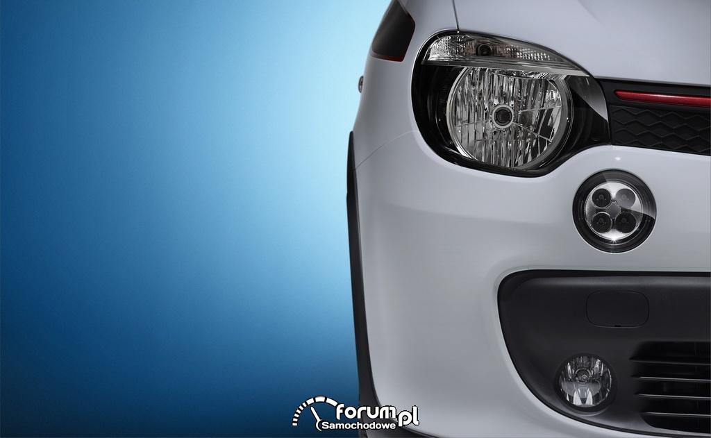 Nowe Renault Twingo, przednie światła