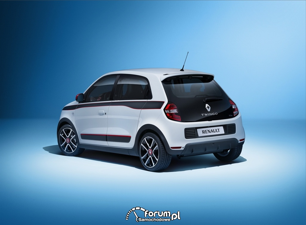 Nowe Renault Twingo, tył