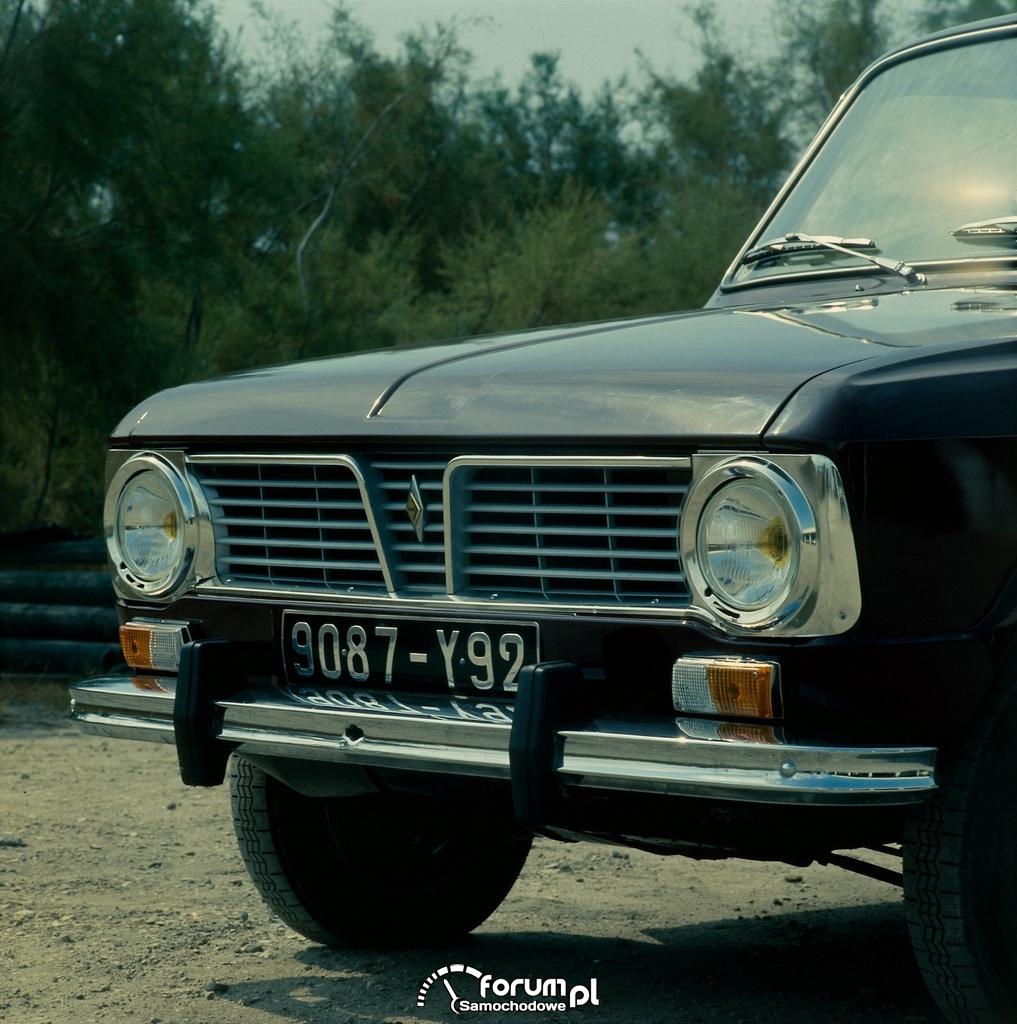 Renault 6 - 1968r.