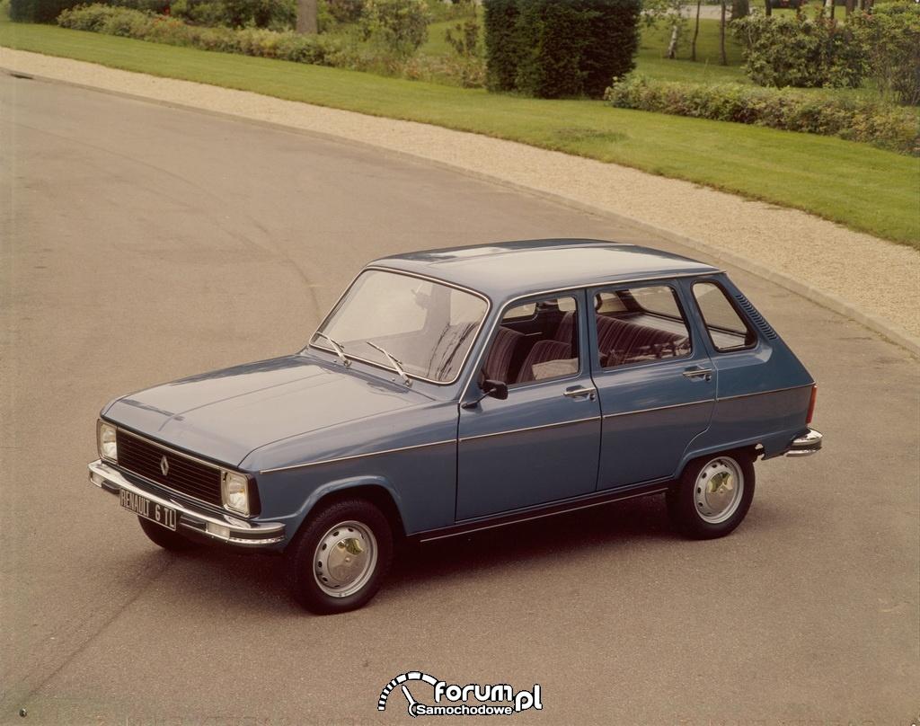 Renault 6 - 1978r.