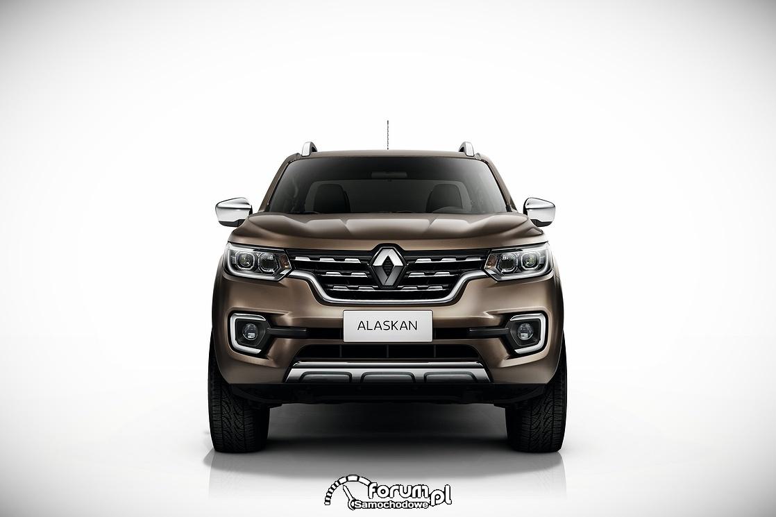 Renault ALASKAN, przód