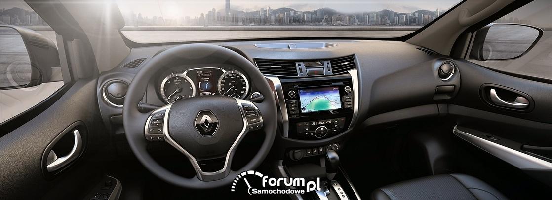 Renault ALASKAN, wnętrze, deska rozdzielcza