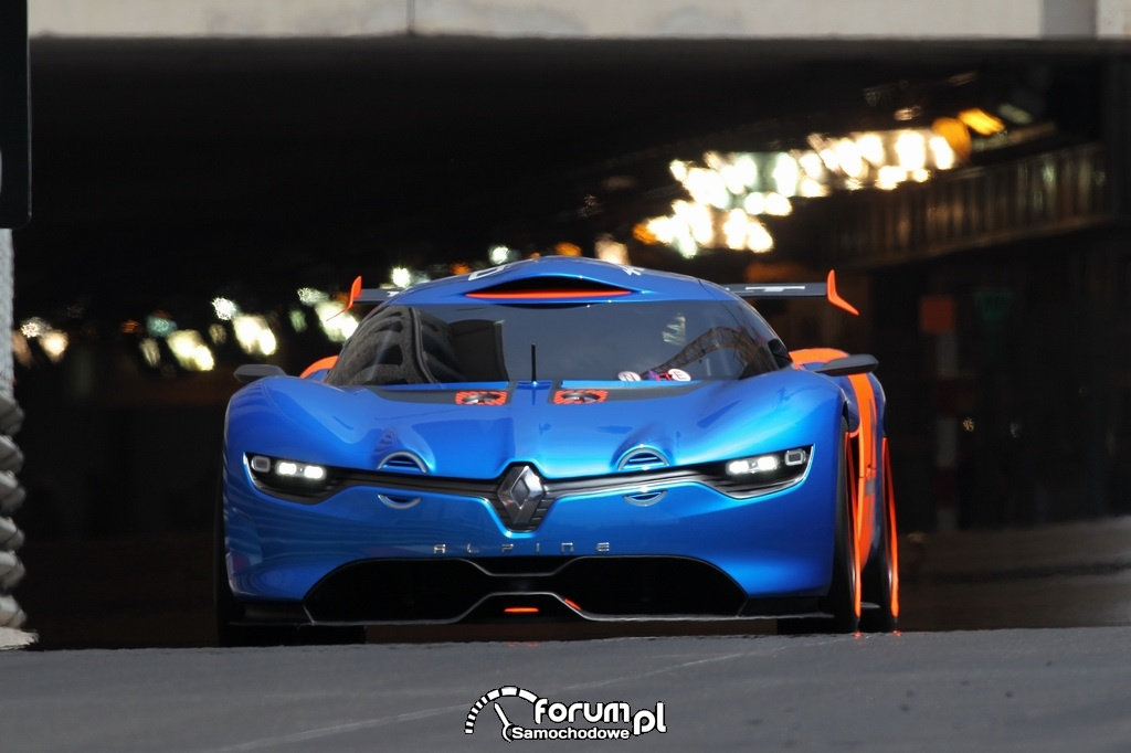 Renault Alpine A110-50, przód