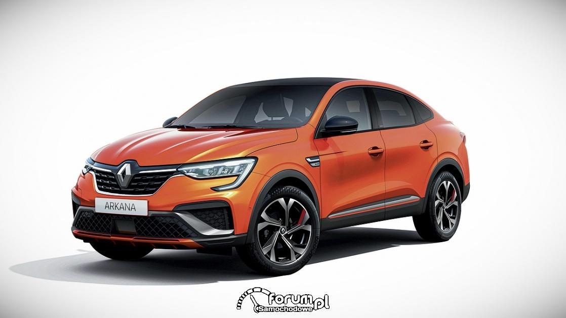 Renault Arkana R.S. Line, przód
