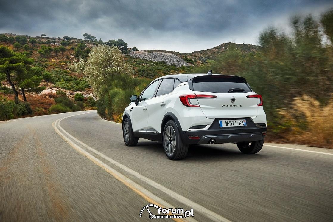 Renault Captur, prawy pas, góry