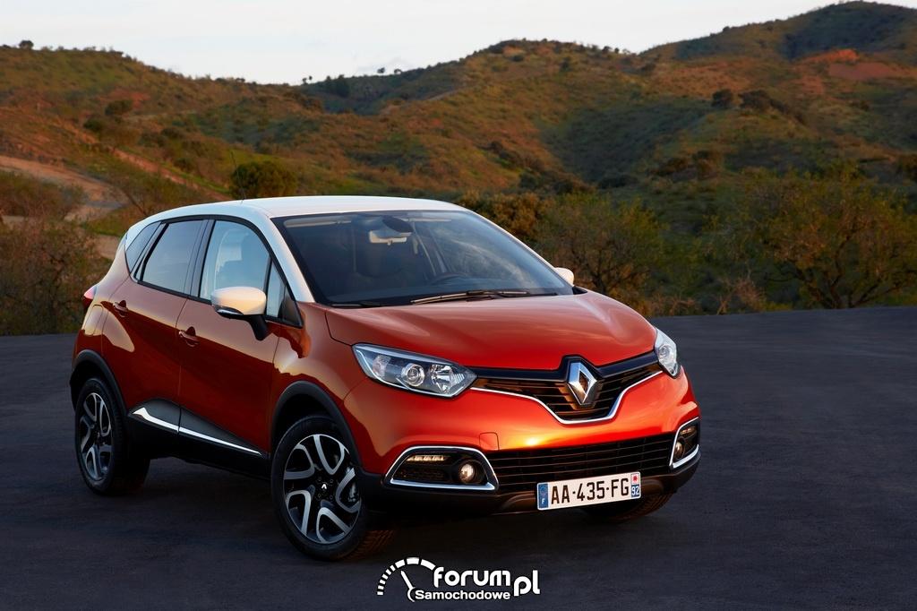 Renault Captur, przód