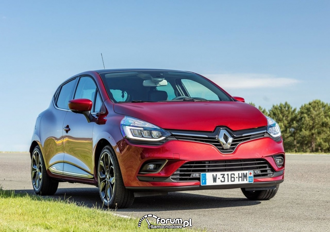 Renault Clio 1,2 Energy TCe o mocy 120 KM