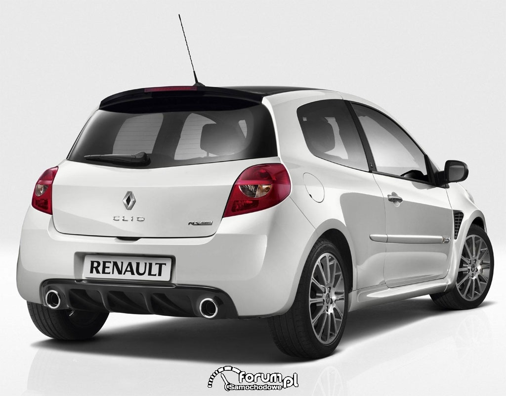 Renault Clio III RS, tył