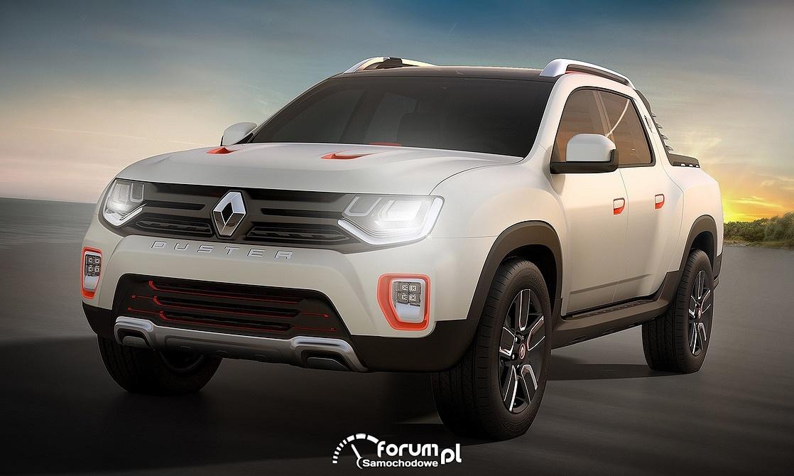 Renault Duster Oroch Concept, przód