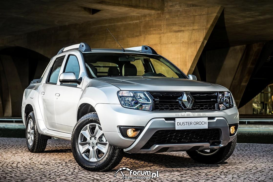 Renault Duster Oroch, PickUp, przód