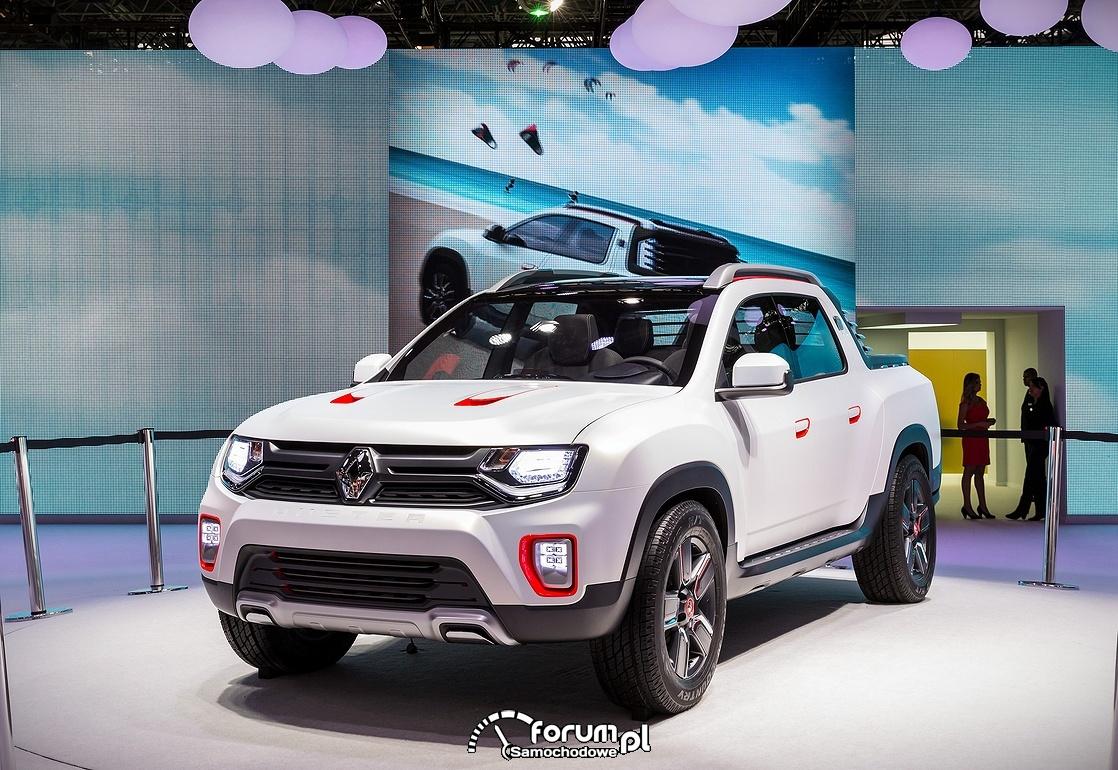 Renault Duster Oroch, przód
