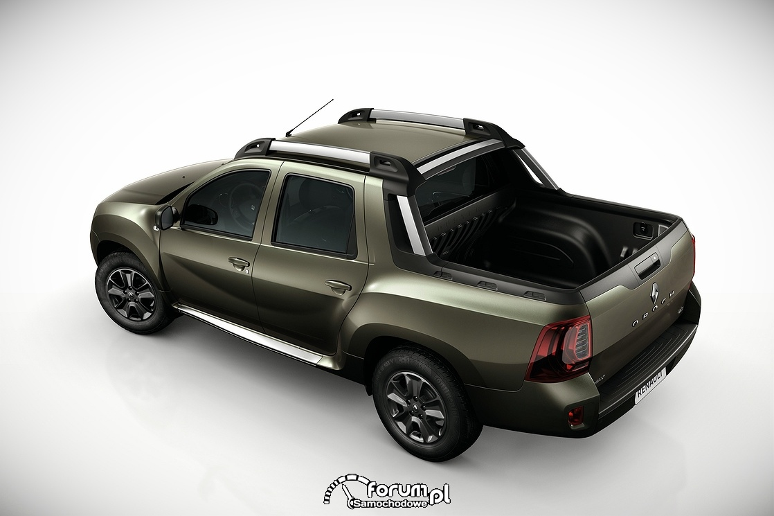 Renault Duster Oroch, widok z góry