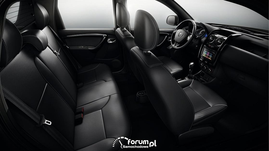 Renault Duster Oroch, wnętrze