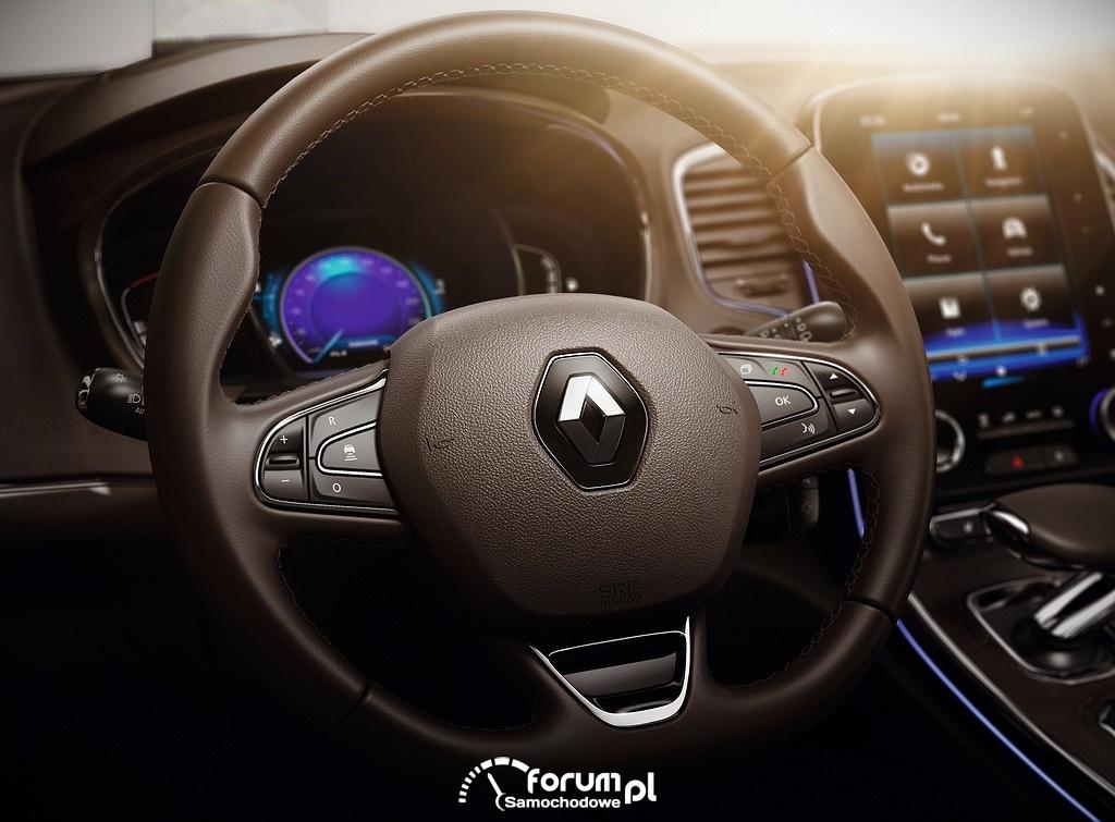 Renault Espace, kierownica multifunkcyjna