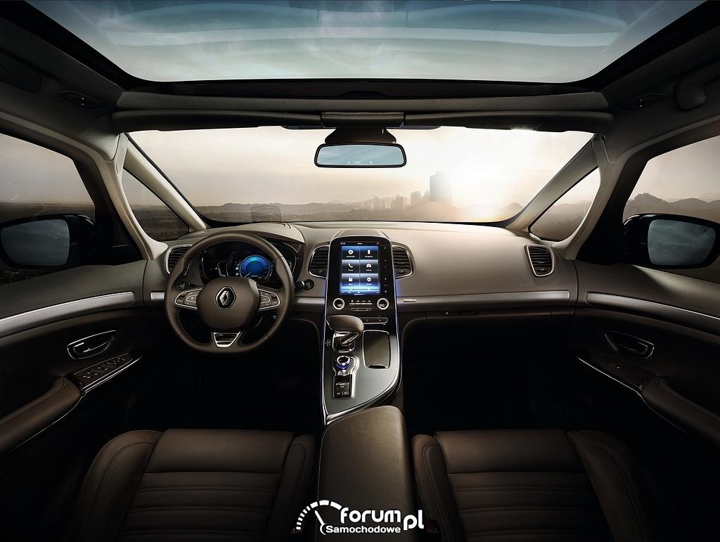 Renault Espace, wnętrze