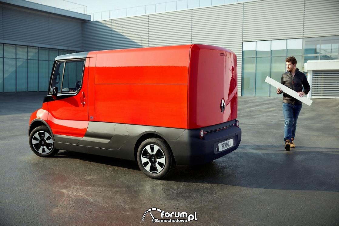 Renault EZ-FLEX, bok