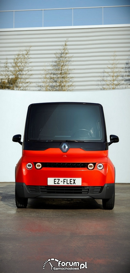 Renault EZ-FLEX, przód