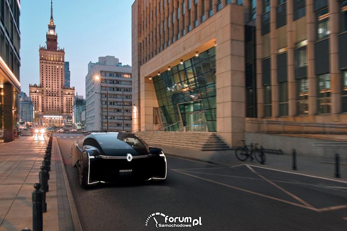 Renault EZ-ULTIMO, przód