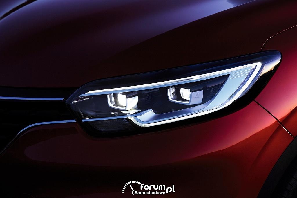 Renault Kadjar, przednie reflektory